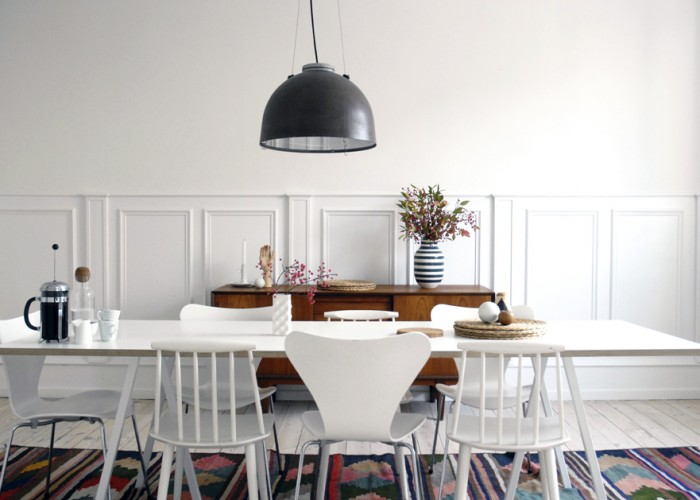 At home: Trine and Jan in Copenhagen