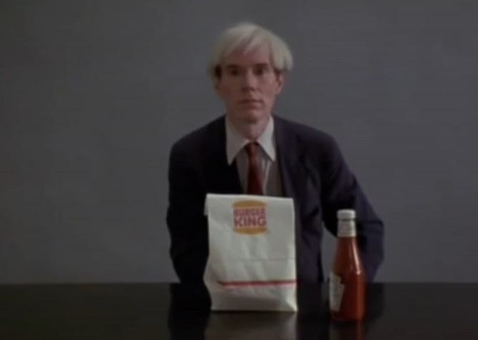 Jørgen Leth – Andy Warhol Eating a Hamburger