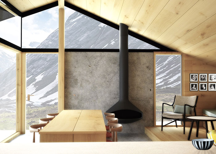 New Norwegian Cabin Design